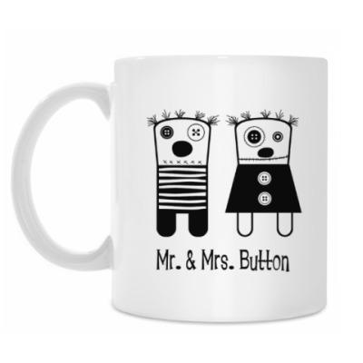 Кружка Mr. & Mrs. Button