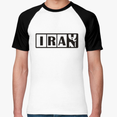Футболка реглан Иран-Ирак