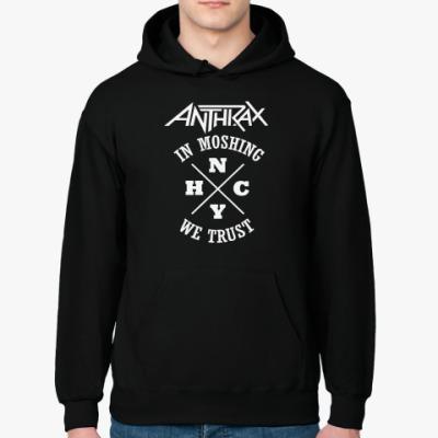 Толстовка худи Anthrax