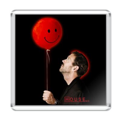 Магнит House & balloon