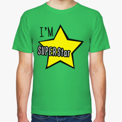 Футболка I'm Superstar