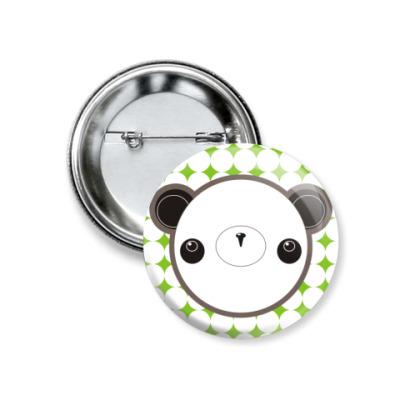 "Значок 37мм  ""Panda-chan"" (37 мм)"