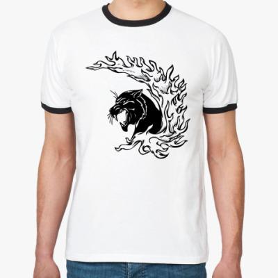 Футболка Ringer-T Panther
