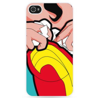 Чехол для iPhone Wonder Woman