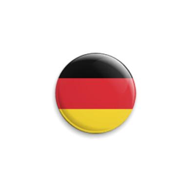 Значок 25мм Deutschland