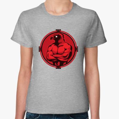 Женская футболка Красивый спортивный орел