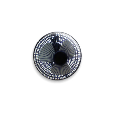 Значок 25мм Вентилятор