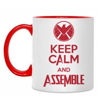 Кружка Avengers Assemble