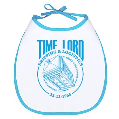 Слюнявчик Time Lord