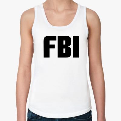 Женская майка  ФБР