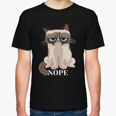 Футболка Grumpy cat