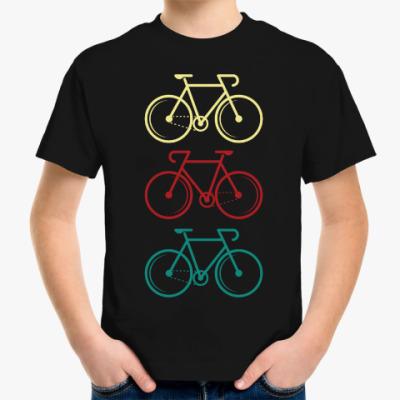 Детская футболка Велосипеды