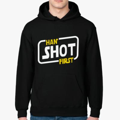 Толстовка худи Han shot first