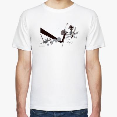 Футболка Черно-белый №2
