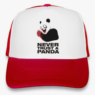 Кепка-тракер Никогда не верь панде