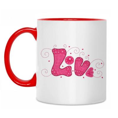 Кружка Pink Love