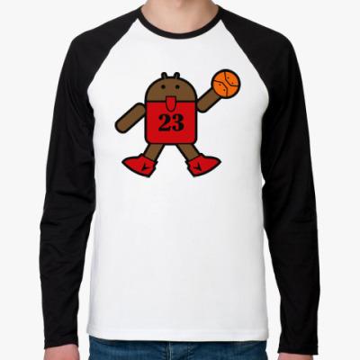 Футболка реглан с длинным рукавом Jordan Android