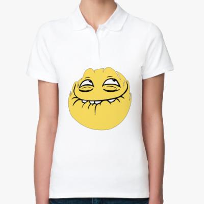 Женская рубашка поло ПеКа-фейс