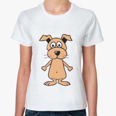 Классическая футболка Собачка