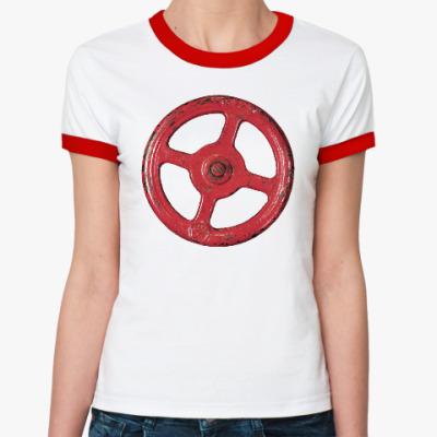 Женская футболка Ringer-T Несчастный Случай