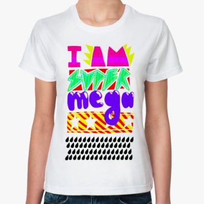 Классическая футболка SuPEr STAr