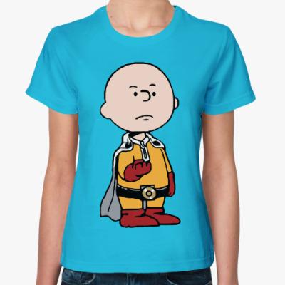 Женская футболка Ванпанчмен One Punch Man