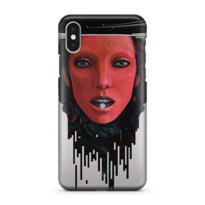 Чехол для iPhone X Сон Красной
