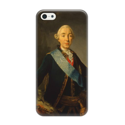 Чехол для iPhone 5/5s Романовы: Петр III