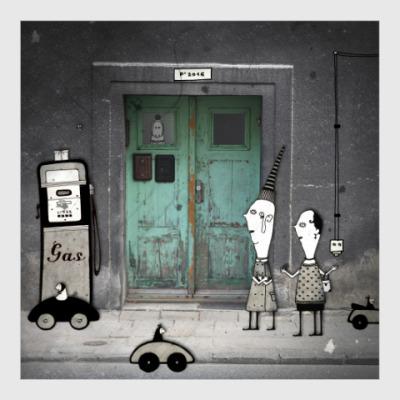 Постер Green Door