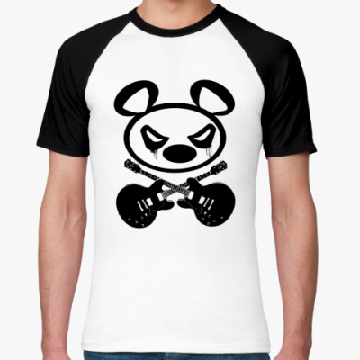 Футболка реглан   Panda