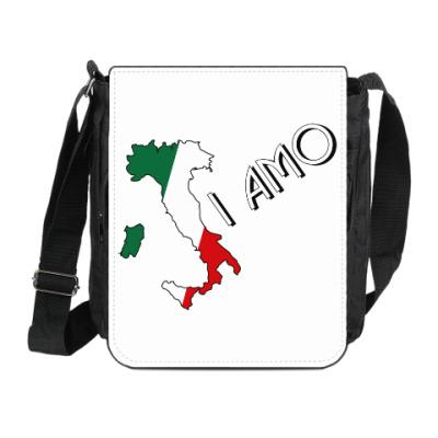 Сумка на плечо (мини-планшет) Я люблю тебя по-итальянски