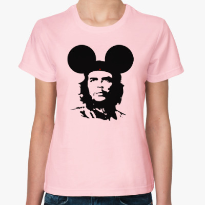 Женская футболка  Mickey Mouse Che Guevara