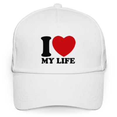 Кепка бейсболка Люблю свою жизнь