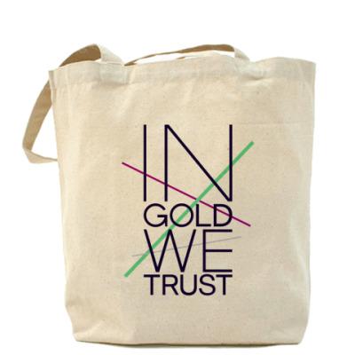 Сумка In Gold We Trust