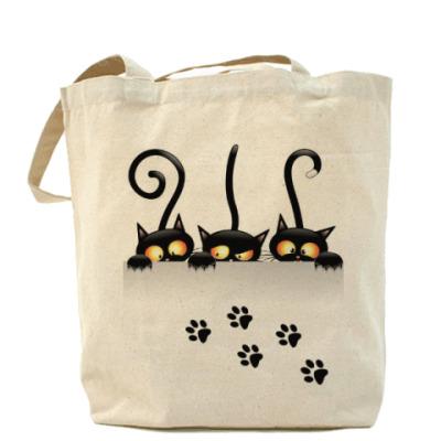 Сумка Четыре черненьких чумазеньких котенка