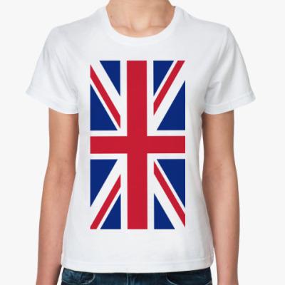 Классическая футболка Флаг Великобритании
