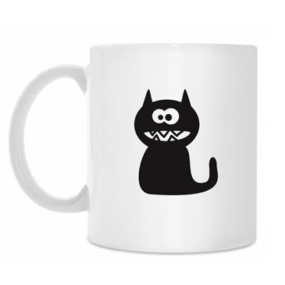 Кружка Бешеный кот