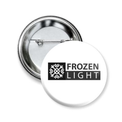 Значок 50мм лаконичный frozenlight