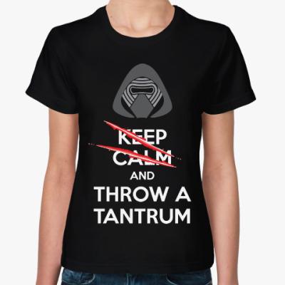 Женская футболка Кайло Рен (Звездные Войны)