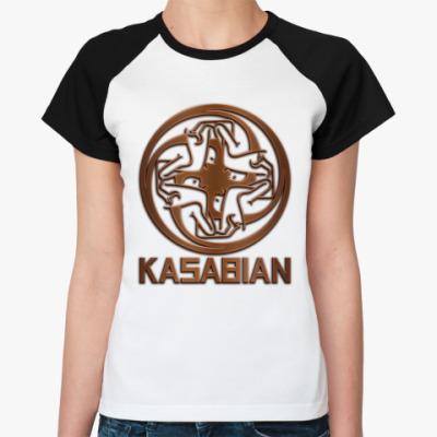 Женская футболка реглан Kasabian