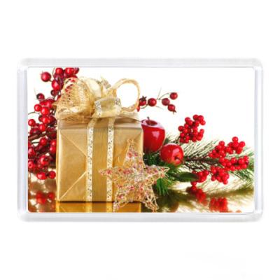 Магнит Подарок на Новый год