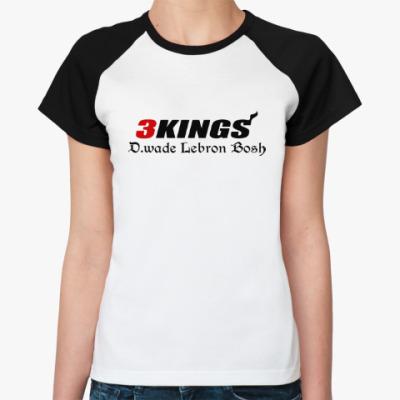 Женская футболка реглан Три короля