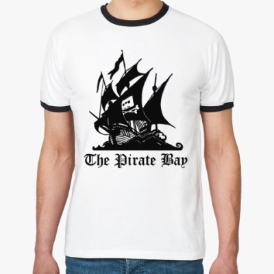 Футболка Ringer-T Pirate Bay