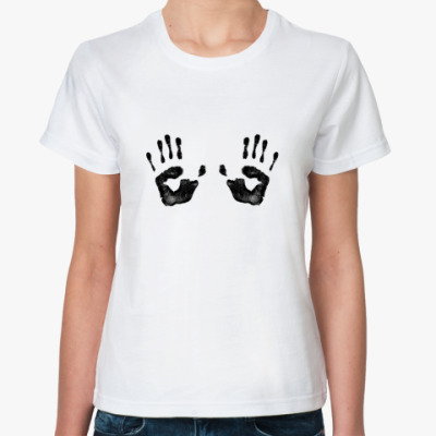 Классическая футболка Руки