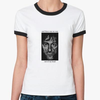 Женская футболка Ringer-T  No Way