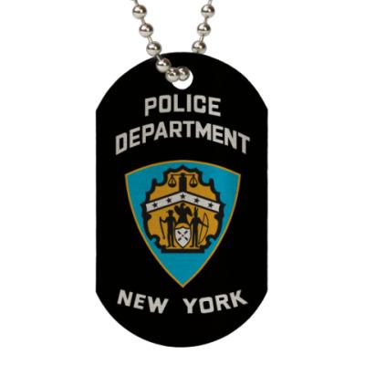 Жетон dog-tag Полиция