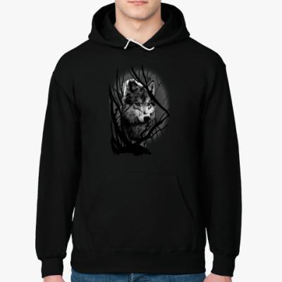 Толстовка худи Волк