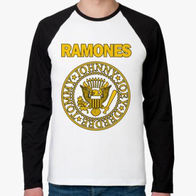 Футболка реглан с длинным рукавом Ramones