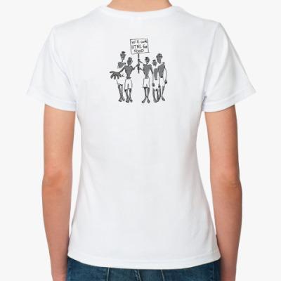Классическая футболка  футболка HTML