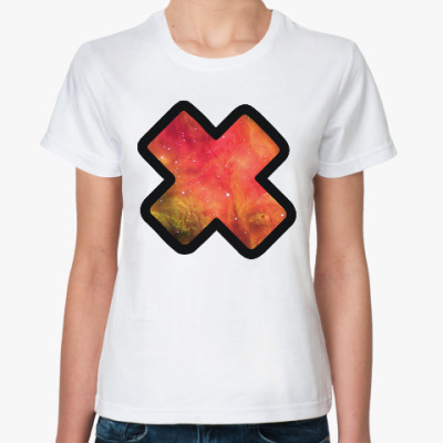 Классическая футболка Galaxy X